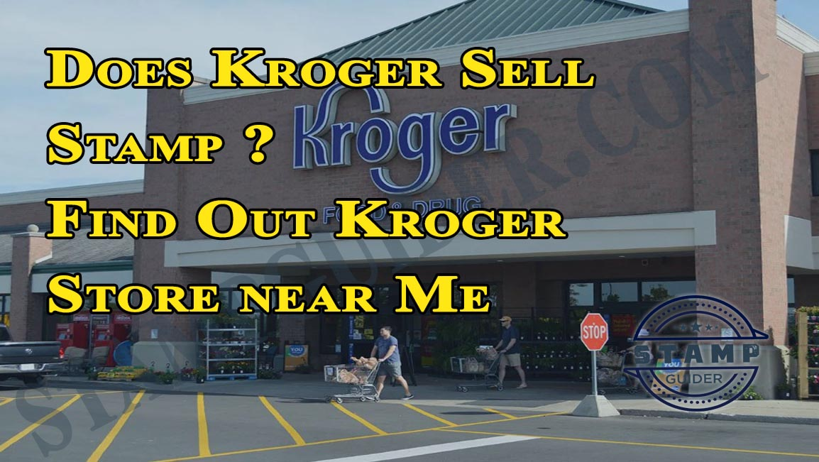 Does Kroger sell stamps