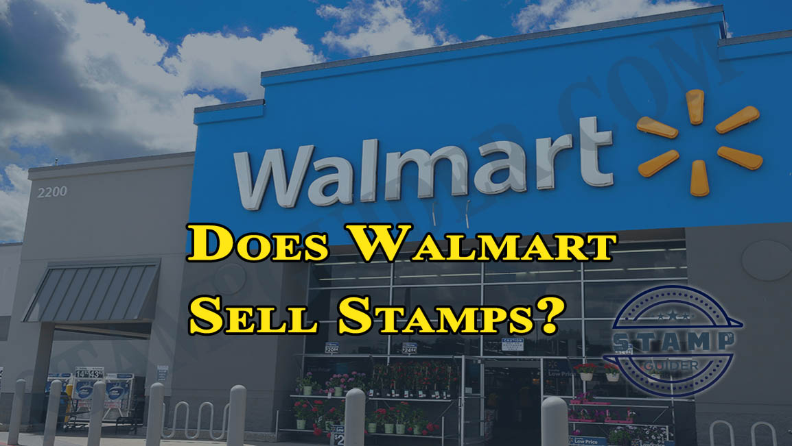 Does Walmart Sell Stamps?