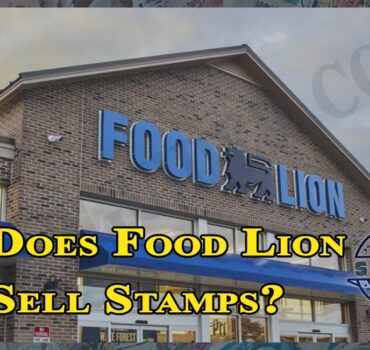 Does Food Lion Sell Stamps?