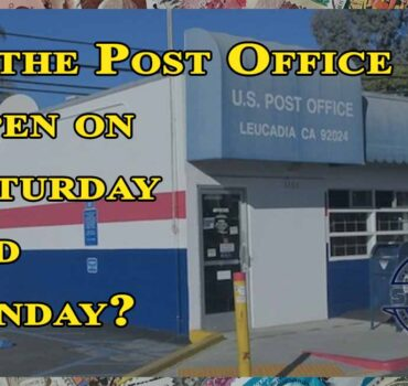 Is the Post Office Open on Saturday and Sunday?