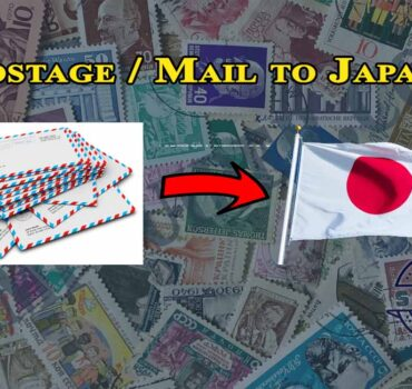 Postage / Mail to Japan