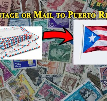 Postage or Mail to Puerto Rico