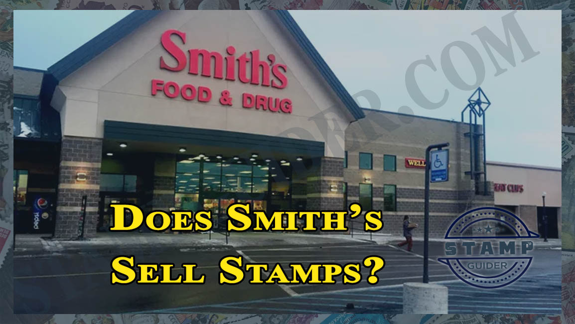 Does Smith's Sell Stamps?