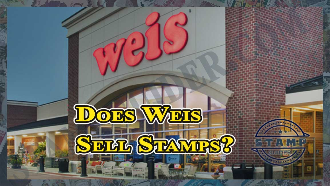 Does Weis Sell Stamps?