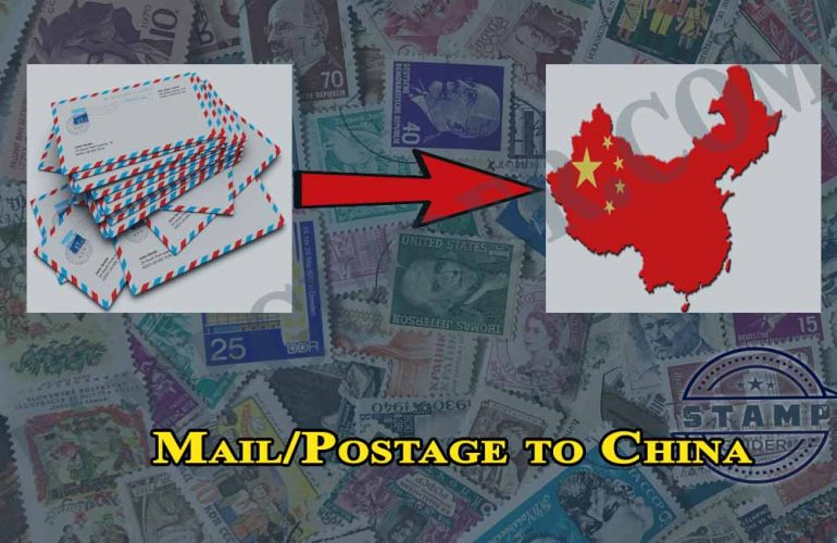 Mail/Postage to China