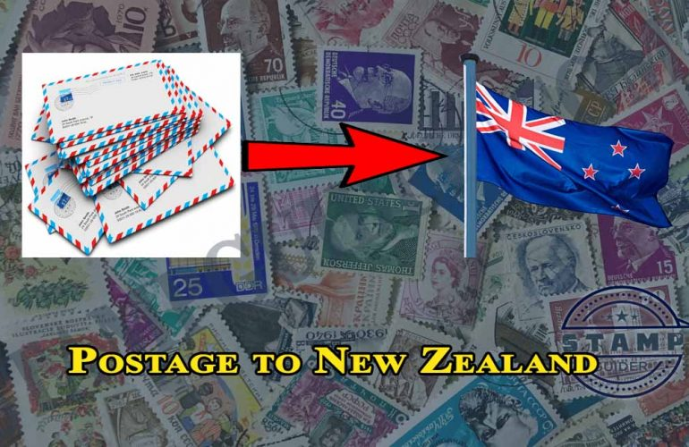 Mail/Postage to New Zealand