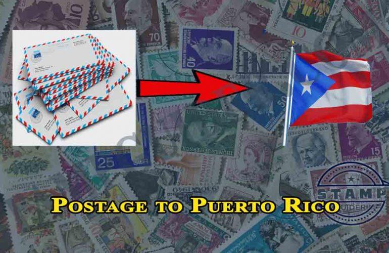 Postage to Puerto Rico