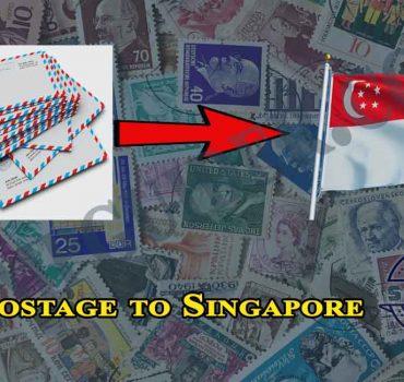 Postage to Singapore