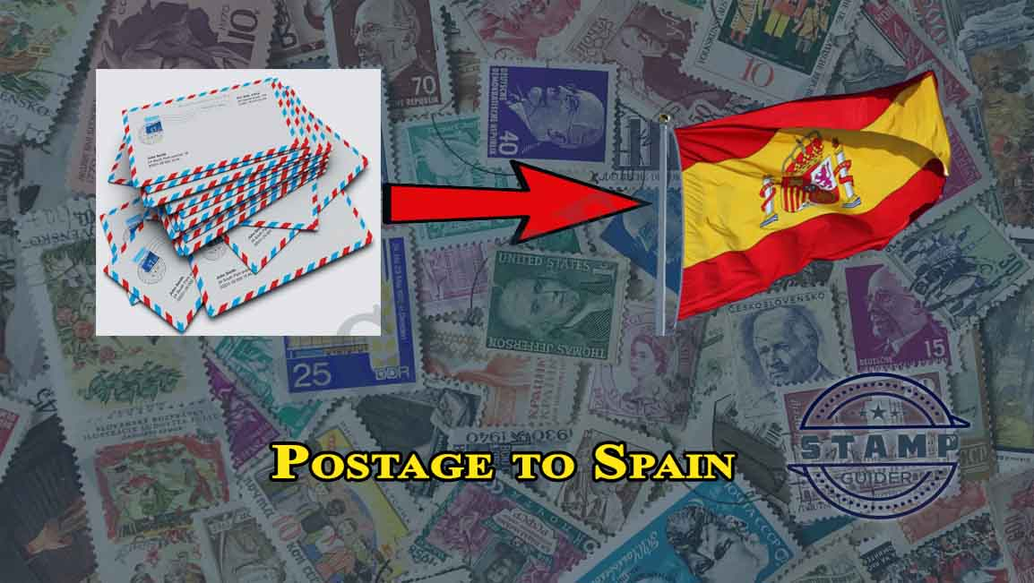 Postage to Spain