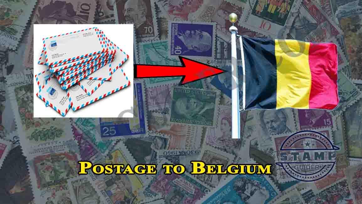 Postage to Belgium