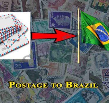 Postage to Brazil