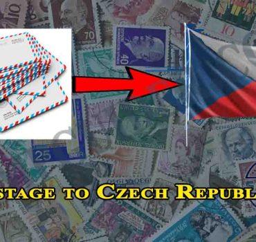 Postage to Czech Republic