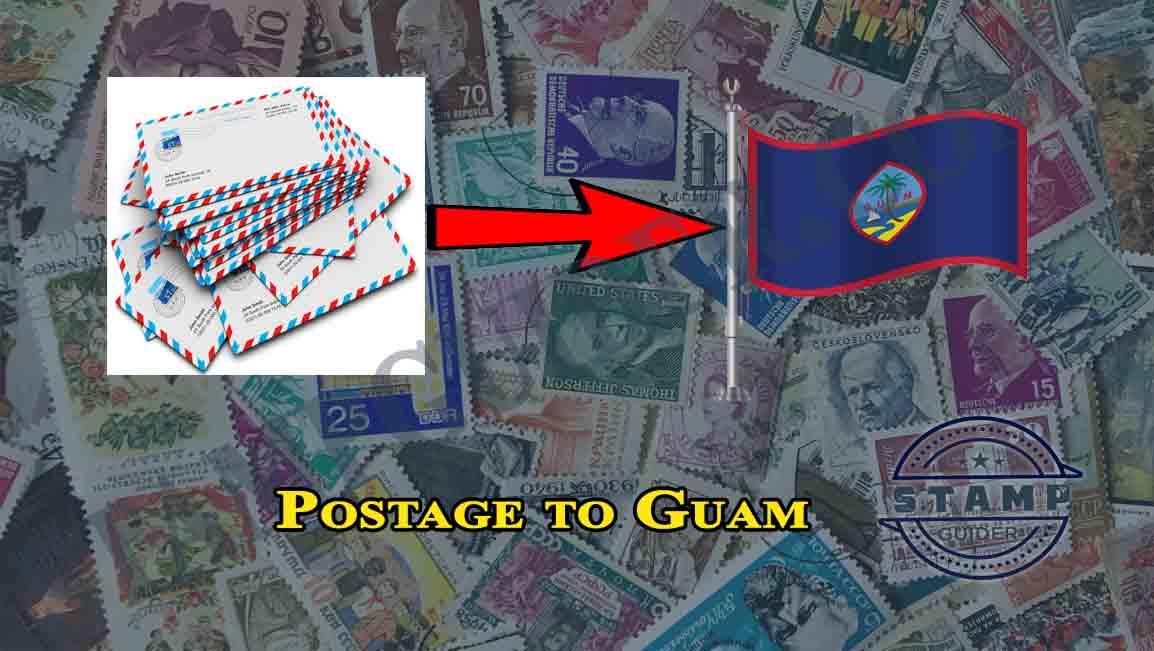 Postage to Guam
