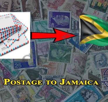 Postage to Jamaica