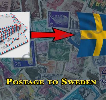 Postage to Sweden