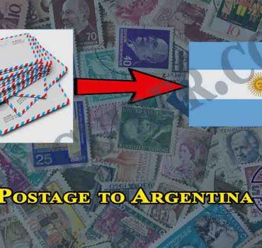 Postage to Argentina
