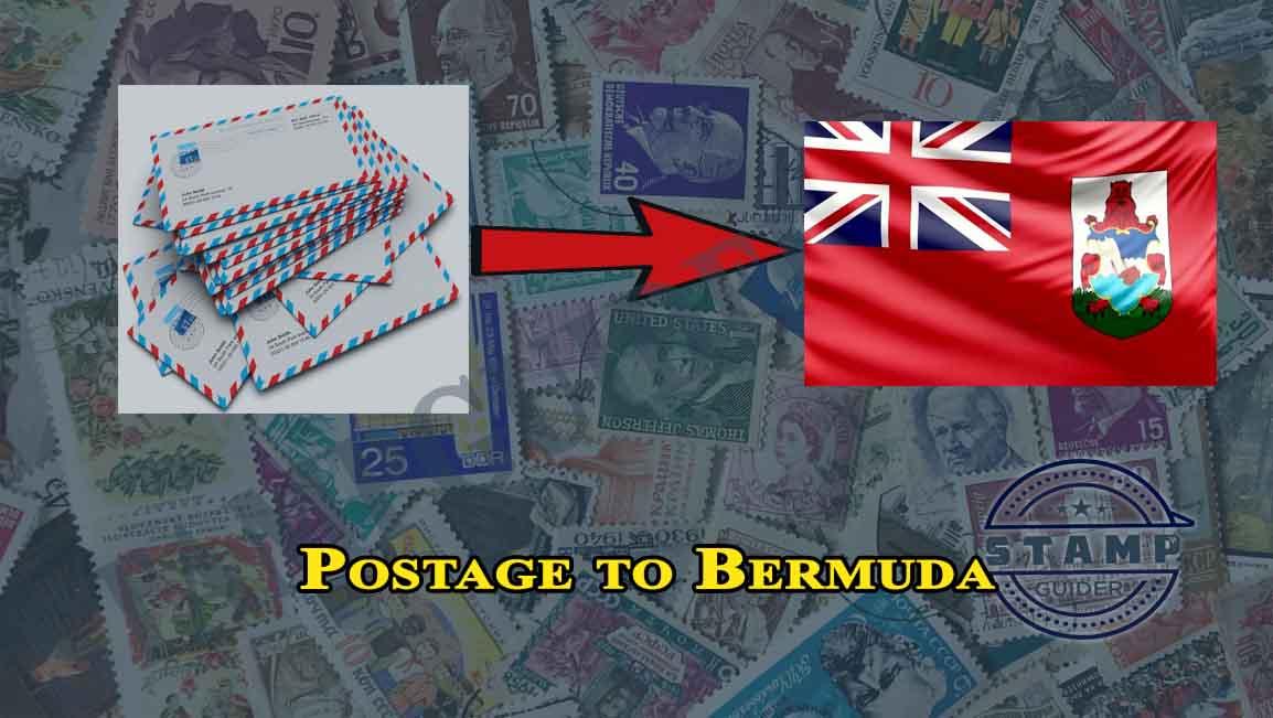 Postage to Bermuda