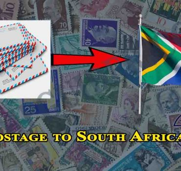 Postage to South Africa