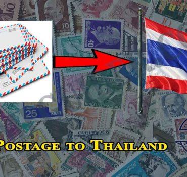 Postage to Thailand