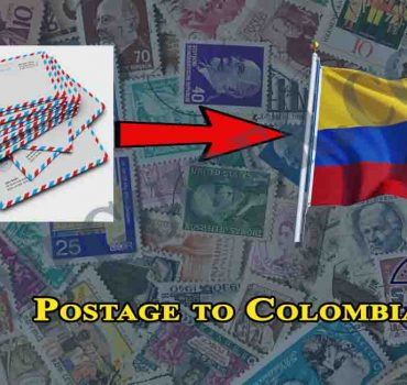 Postage to Colombia